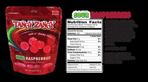 Sour Raspberries Candy