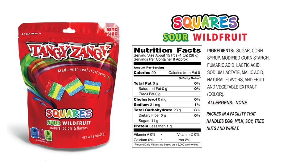 Sour Wildfruit Candy