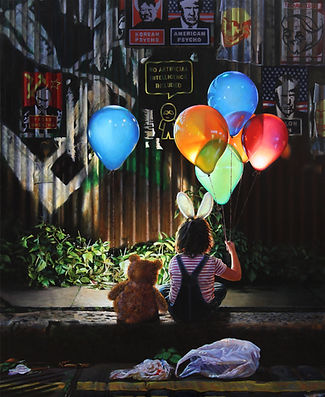 seb and balloons 76x62cm.jpg