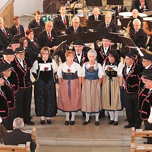 Kirchenkonzert mit der MG Wil