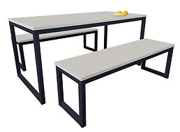 Standard-Dining-Table-&-Benches-Light-Gr
