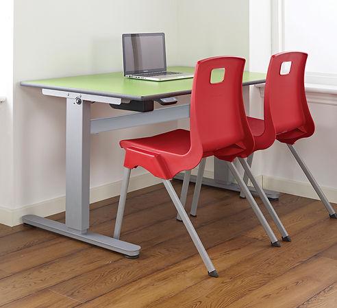 Height Adjustable Table 800 Room Shot.jp