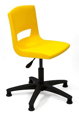 Postura+ Task Chair Poly Glides - Sun Ye