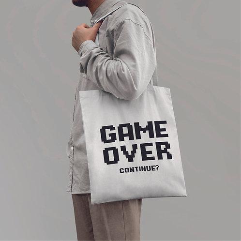 GAME OVER | grafikás vászontáska