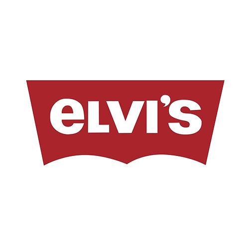 Elvi's | grafikás női fehér pamutpóló