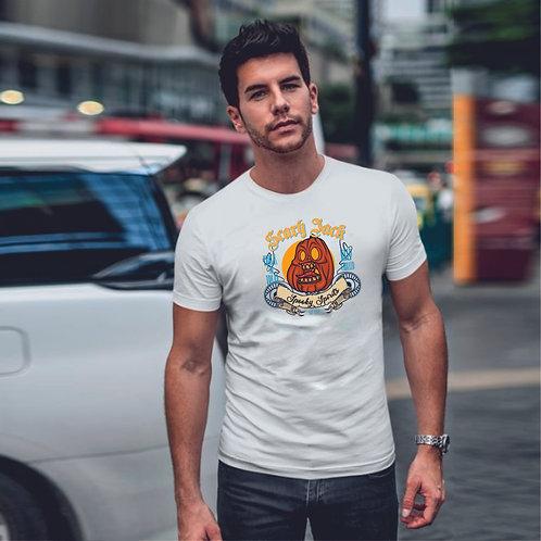 SCARLY JACK| grafikás férfi pamutpóló