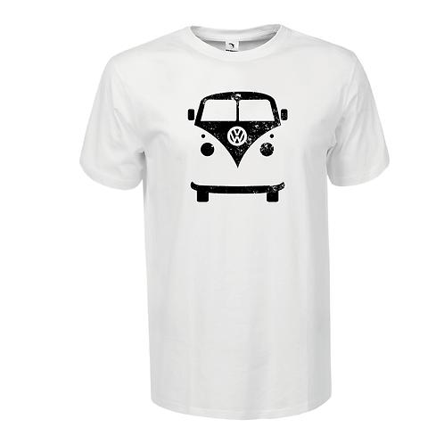 VW   bicikli mintás férfi póló