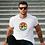 Thumbnail: Körben a bicikli   bicikli mintás férfi póló