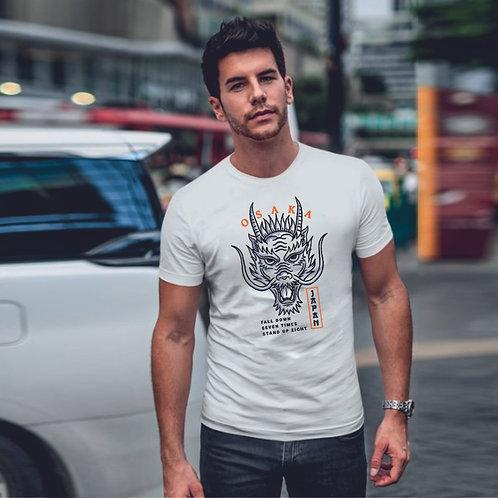 Osaka dragon   grafikás férfi pamutpóló