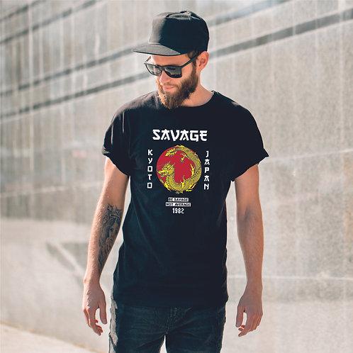 Savage dragon | grafikás férfi pamutpóló