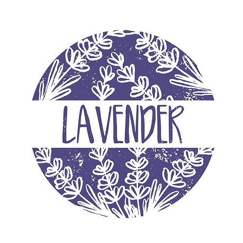 Lavender globe | grafikás női fehér pamutpóló