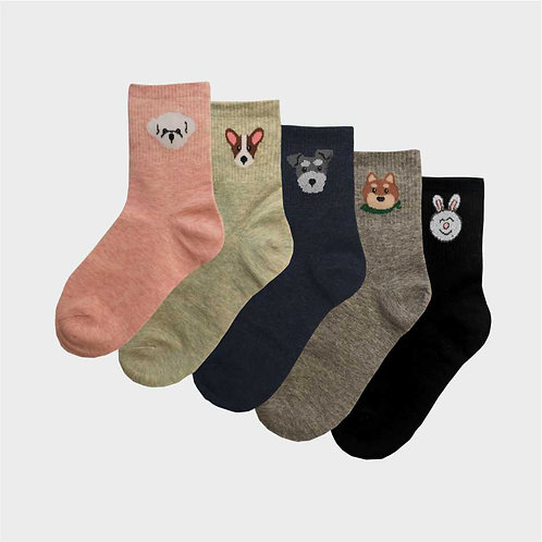 Vidám kutyus zokni | Női VIDAM ZOKNI