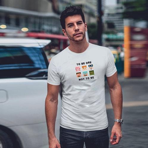 TO BE OR NOT TO BE | grafikás férfi pamutpóló