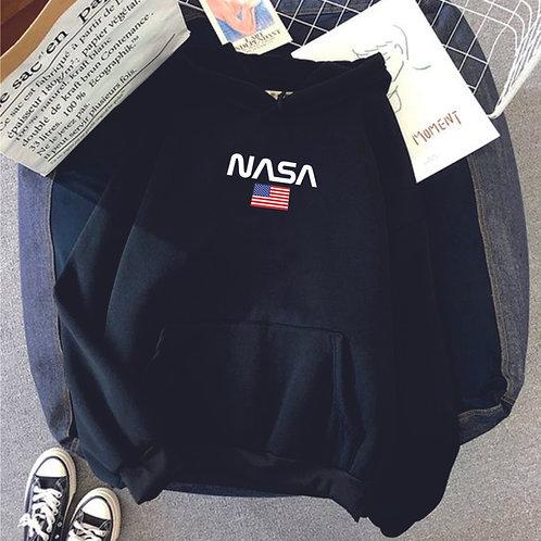 NASA & USA | grafikás férfi pulóver