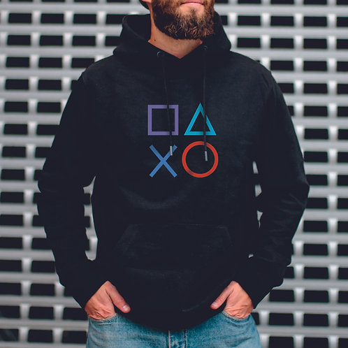 GEO4 | grafikás férfi pulóver