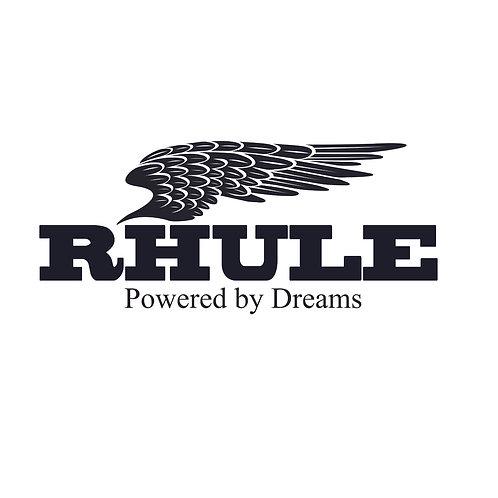 Rhule dreams | grafikás férfi fehér pamutpóló