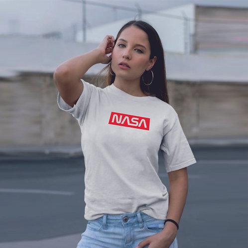 Super NASA | grafikás női pamutpóló