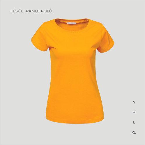 Női T-shirt   női pamutpoló