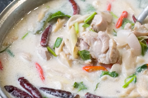 Traditional Tom Kha - Non-Vegan - May 8