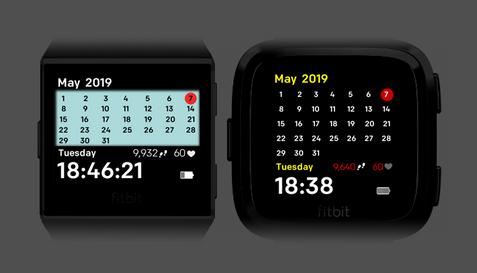 Simple Calendar Watch