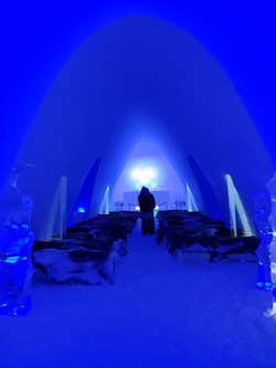 Get married at the ice cathedral