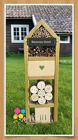 Homemade Insect Hotel from Møyrud Bed & Breakfast in Norway