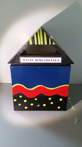 Homemade Bumblebee Hotel, for sale, a must for kids, souvenires from Norway, Bumblebee Accomodation