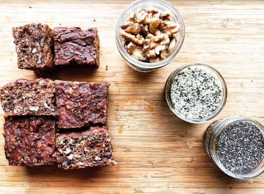 Super Healthy Vegan & Gluten Free Banana Walnut Bread with Dates