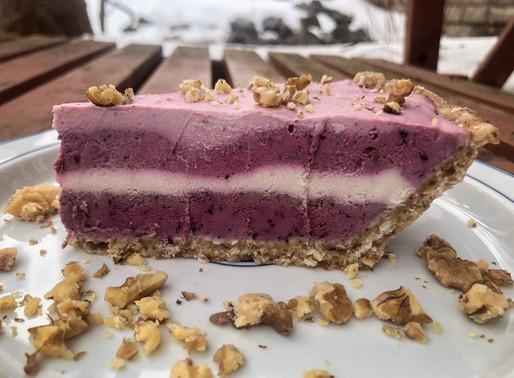 Vegan Four Layer Cheesecake