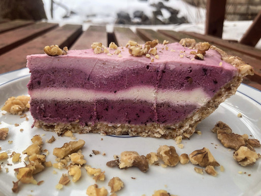 Vegan Four Layer Cheesecake