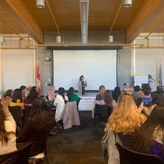 International Womens Day Forum Surrey
