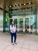 Visit to the United Nations Foundation 2019