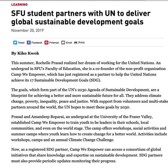 SFU News