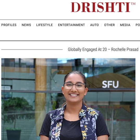 Drishti Magazine: Globally Engaged