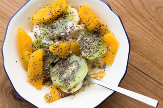Salade de fruits exotiques (dessert)