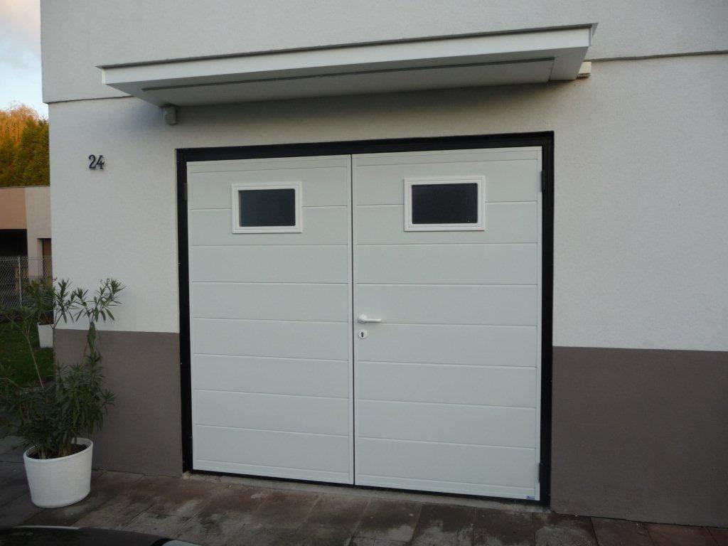 Porte de garage deux vantaux