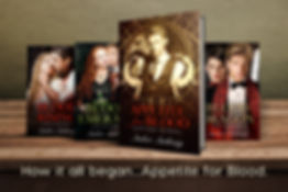 All 4 Blood Trilogy Paperback covers.jpg