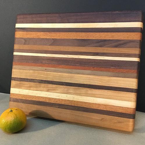 Wood cutting board by artist Chris Grayson