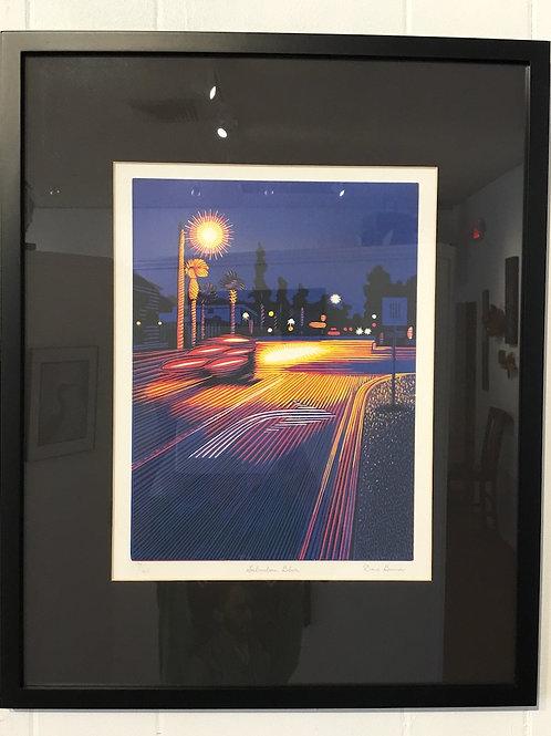 16x20 block print by artist Dave Bruner