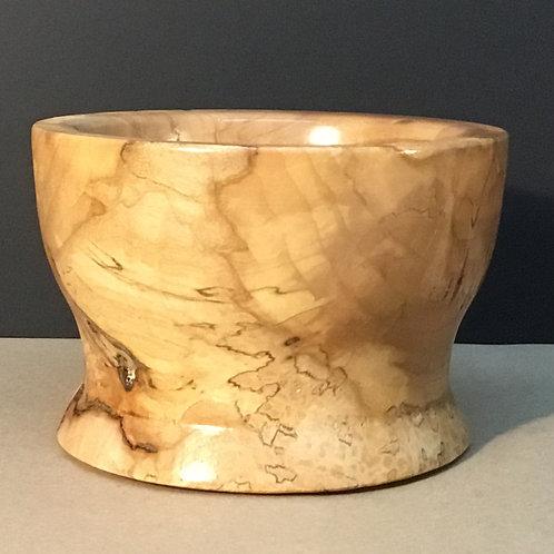 Burl wood bowl, small, by artist Chris Grayson