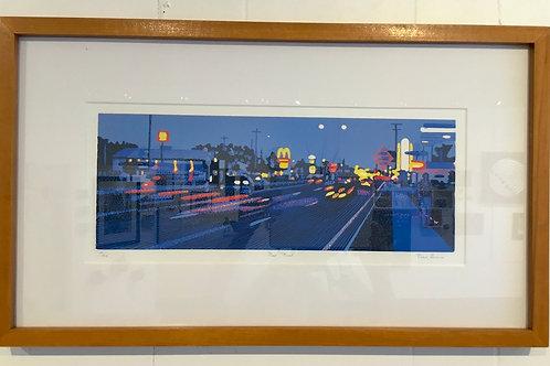 14x24 block print by artist Dave Bruner