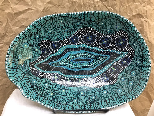 Ceramic art by artist Sandy Mann