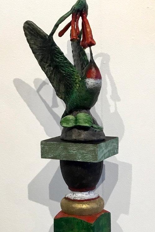 """Raise your Hallelujah"", Hummingbird by artist Lee Taylor"