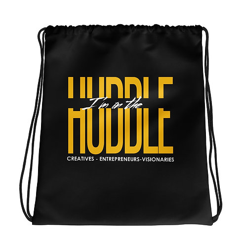 I'm In The Huddle | Drawstring bag