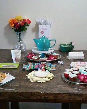 Fancy Tea Table _So happy for those who