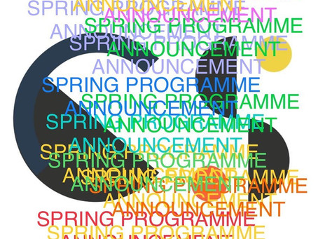 In exactly one week we announce our spring programme for 2021!