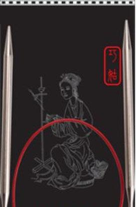 ChiaoGoo Red Steel Circular Needle 32in