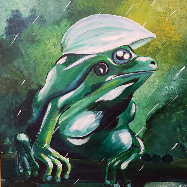 SOLD! Waiting Frog $200