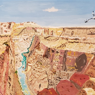 Grand Canyon - Oil on Canvas - $595.jpg