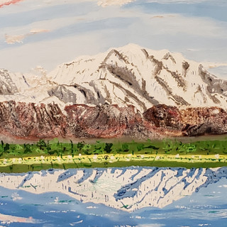 Nature's Image - Oil on Canvas - $595.jp
